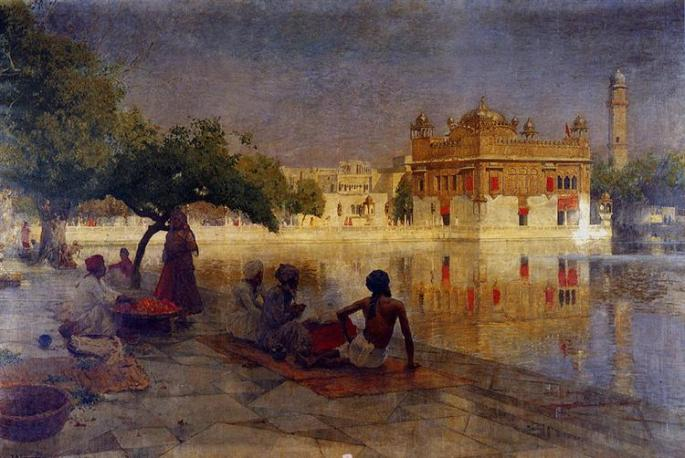 1The Golden Temple at Amritsar. Edwin Lord Weeks