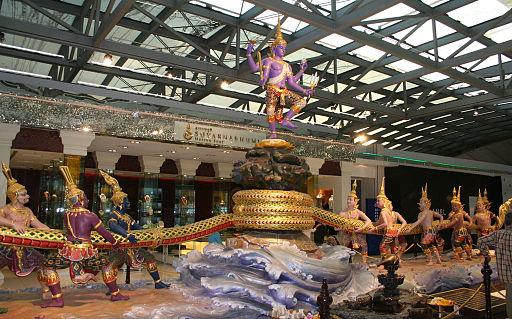 mike powell Suvarnabhumi_Airport,_Bangkok