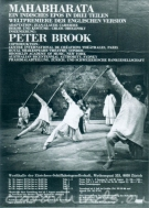 peter brook mahabharata poster