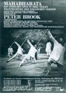 peter brook mahabharata poster