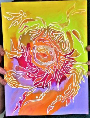 Fire - Barbara Silverman AZIMVTH Ashram