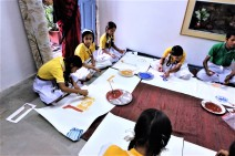 NP School Children Participating with Workshop 2