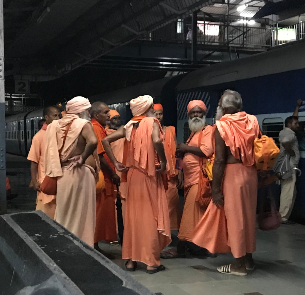 SG Holy Men in Haridwar
