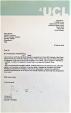 Letter Slade School
