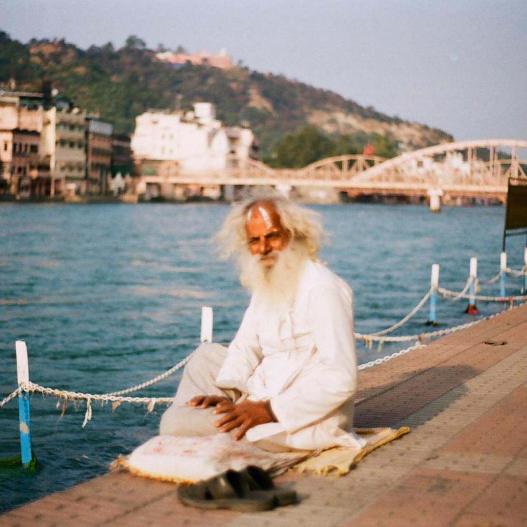 A Sadhu by the Ganges