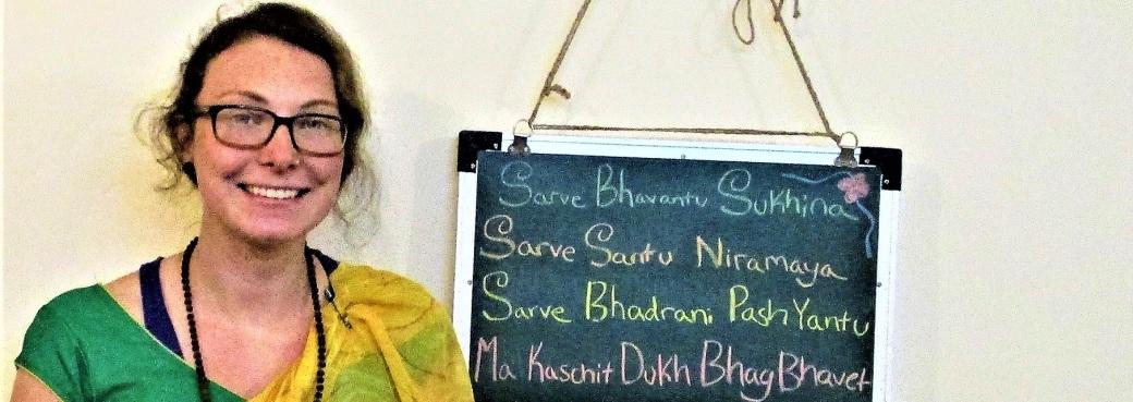 EK with sarve bhavantu