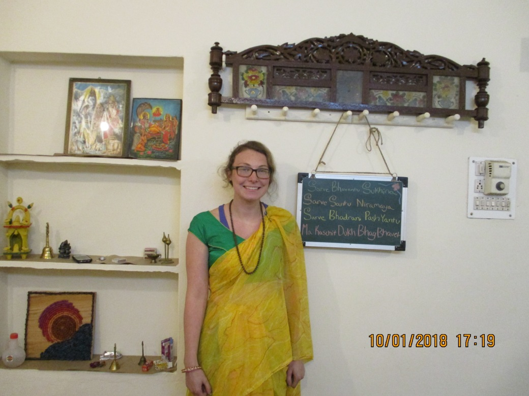 Studio 1 Emily Kuchenbecker Glass Artist at AZIMVTH Ashram Artist Residency Haridwar India