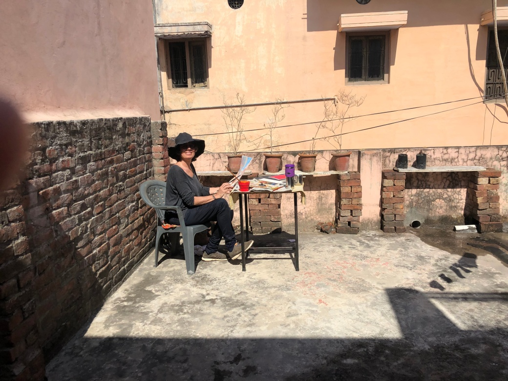 Studio 3 Imago-Mundi-Luciano Benetton Collection AZIMVTH Ashram Art Residency in Haridwar India