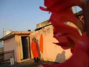 Studio 5 Flower Arts at AZIMVTH Ashram Art Residency in Haridwar India