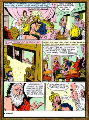Amar Chitra Katha - Ramayana Excerpt 0.3