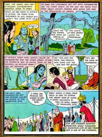 Amar Chitra Katha - Ramayana Excerpt 1.1