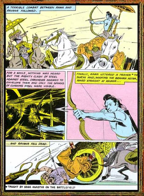 Amar Chitra Katha - Ramayana Excerpt 10.2