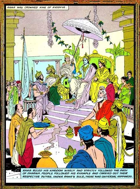 Amar Chitra Katha - Ramayana Excerpt 11