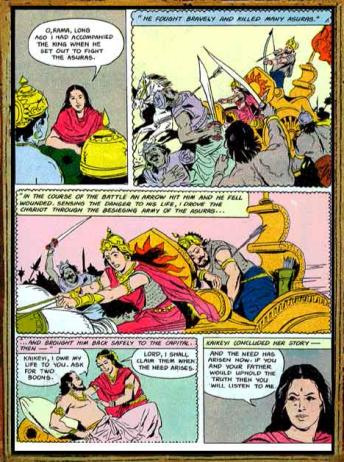 Amar Chitra Katha - Ramayana Excerpt 2.2