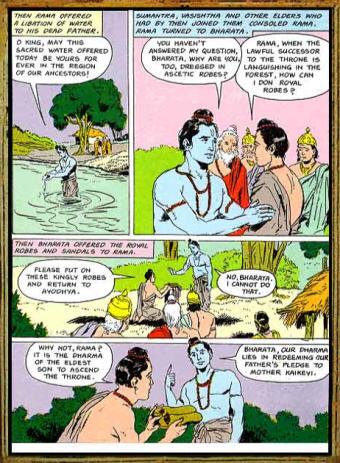 Amar Chitra Katha - Ramayana Excerpt 3.2