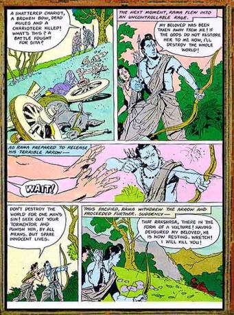Amar Chitra Katha - Ramayana Excerpt 5.1