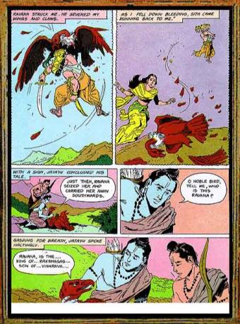 Amar Chitra Katha - Ramayana Excerpt 5.3