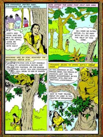 Amar Chitra Katha - Ramayana Excerpt 7.1