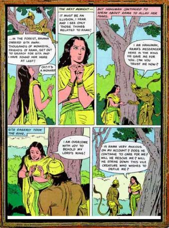 Amar Chitra Katha - Ramayana Excerpt 7.2