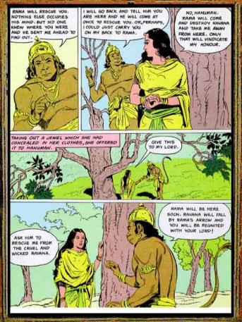 Amar Chitra Katha - Ramayana Excerpt 7.3