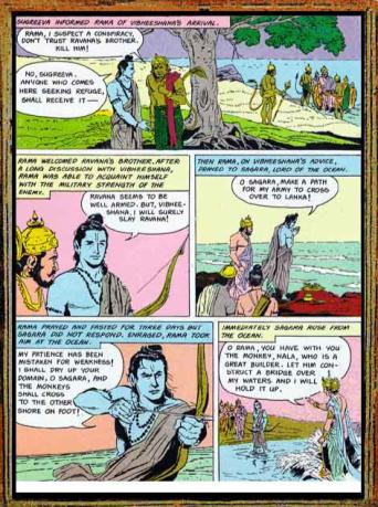 Amar Chitra Katha - Ramayana Excerpt 8.2
