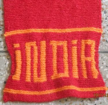 Knitting - English