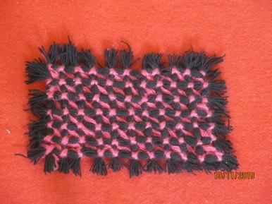 Knitting - small cushion