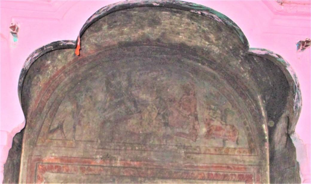 Murals of Haridwar - 1 Guru Nanak - Shiva