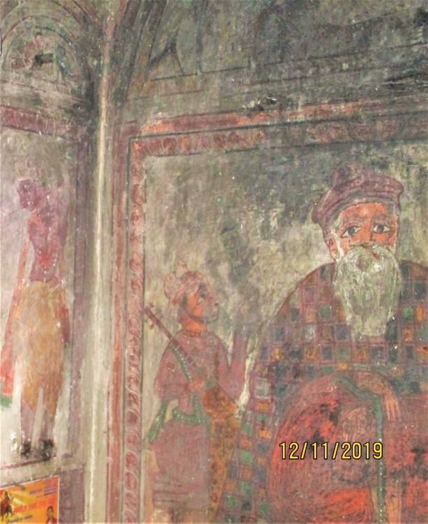 Murals of Haridwar - 2 Guru Nanak - Rama Krishna - 1