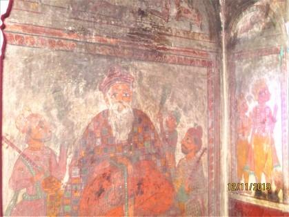 Murals of Haridwar - 3 Guru Nanak - Rama Krishna - 2