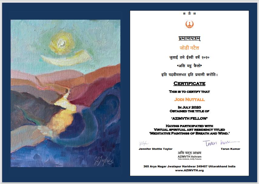 Certificate JN