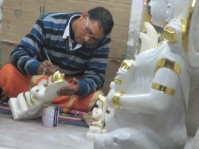 Divinity in stones - artisan at work 7