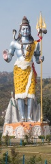 Lord Shiva (Shiv) Statue on Ganges in Haridwar