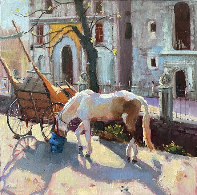Jennifer Stottle Taylor - animals - horse -breaktime