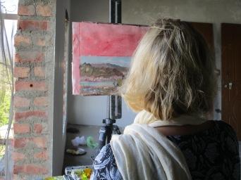 Jennifer Stottle Taylor - Study - Chandi Devi - 2