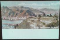 1 Haridwar - View from Chandi Devi Temple - Card - front Kumbh AZIMVTH Ashram