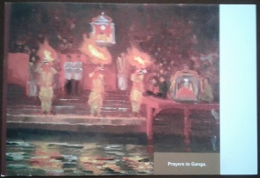 5 Prayers to Ganga - Card - front Kumbh AZIMVTH Ashram