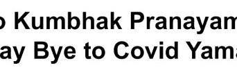 AZIMVTH Ashram - Kumbhak COVID Slogan - English
